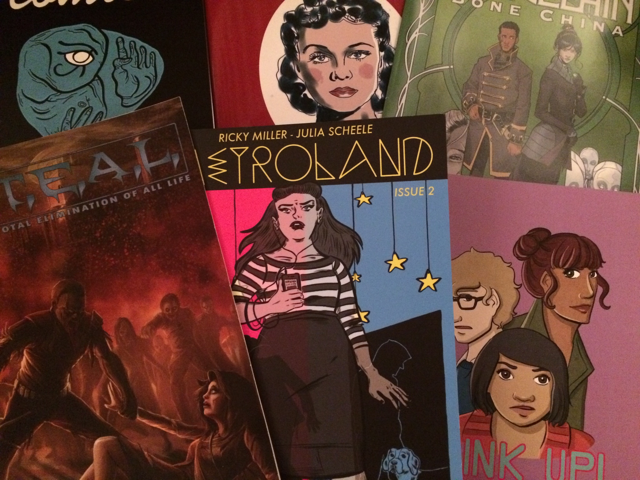 Looking Back on 2014: Creators Choose their 'Top Three' comics