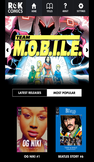 ROK Comics revamps 'Aggregator' App for its audio comics
