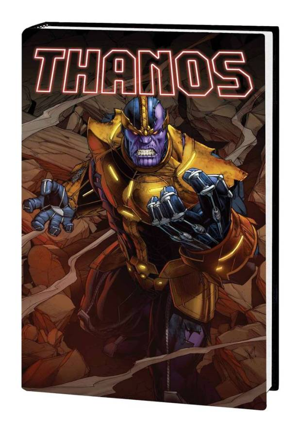 Thanos Hard Cover: God's Up There. Resting