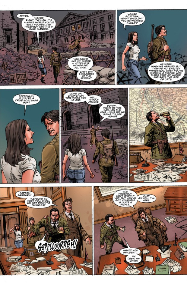 Doctor Who: The Tenth Doctor #7  - Preview 3