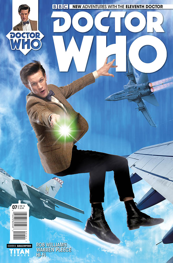 Doctor Who: The Eleventh Doctor #7 Cover B