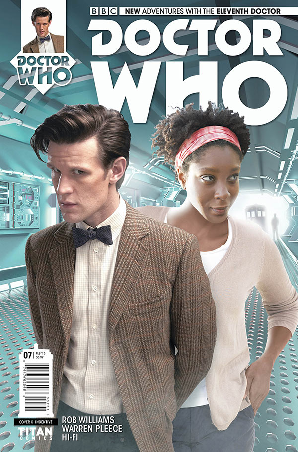 Doctor Who: The Eleventh Doctor #7 Cover C
