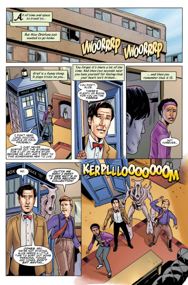 Doctor Who: The Eleventh Doctor #7 Preview 1