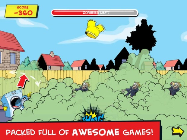 Dennis & Gnasher Adventures App Screenshot 2