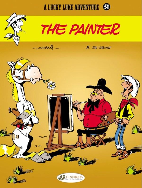 Lucky Luke Volume 51: The Painter