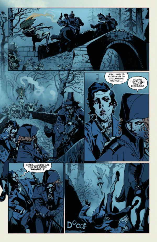 Robbie Burns - Witch Hunter Sample Page 2