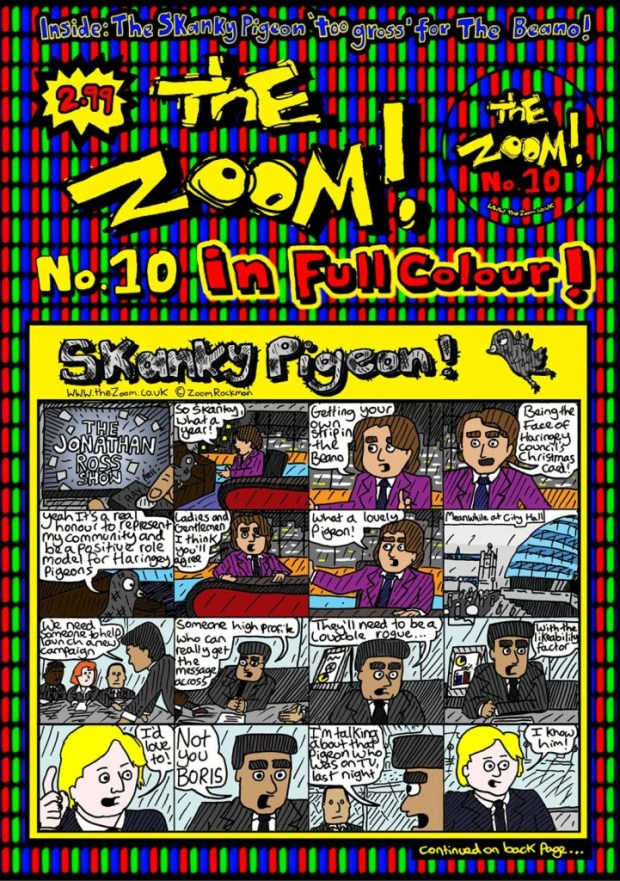 The Zoom Issue 10 - Cover