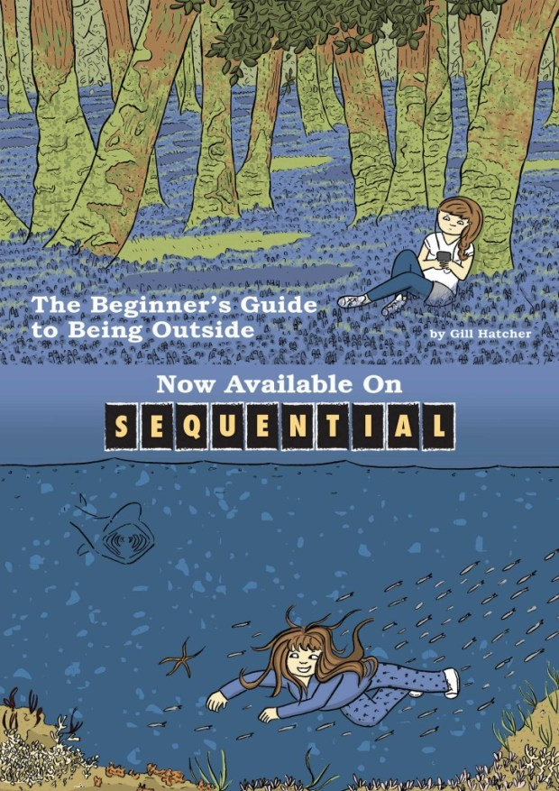 The Beginner's Guide to Being Outside by Gill Hatcher