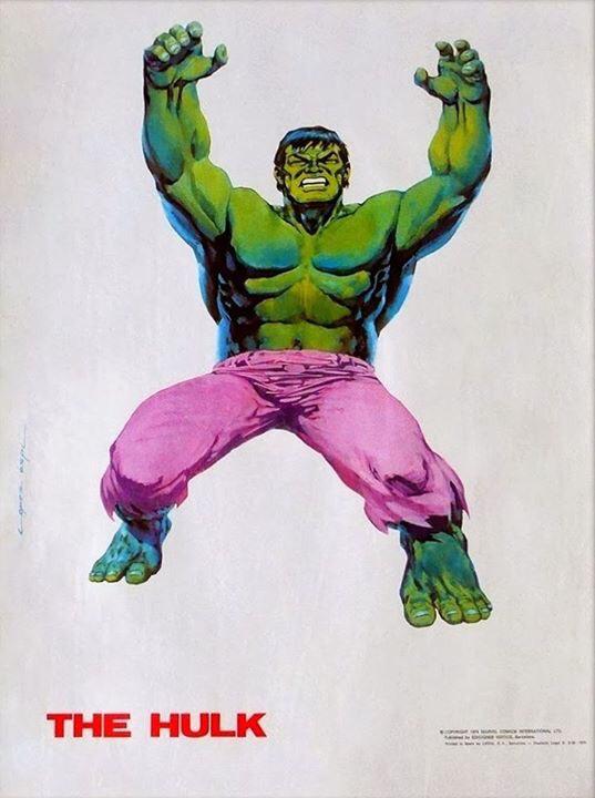 The Incredible Hulk by López Espí