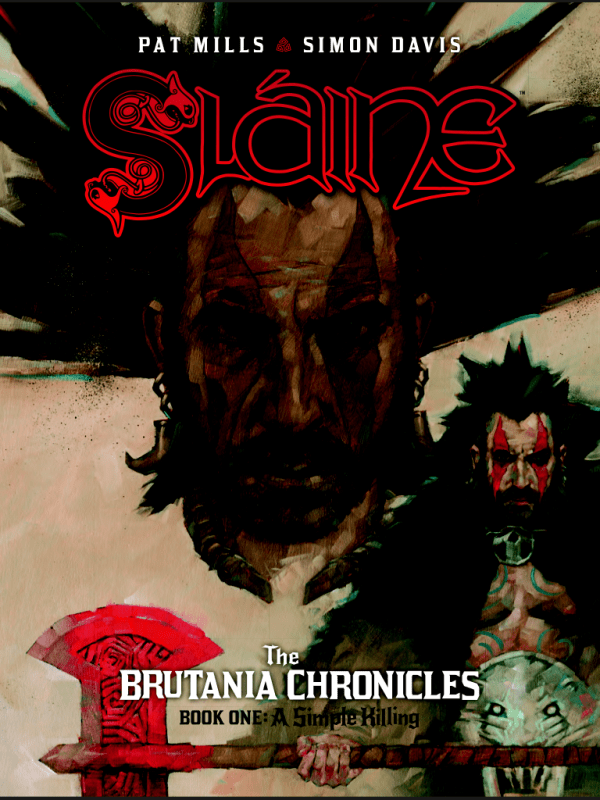 Slaine: The Brutania Chronicles - Cover