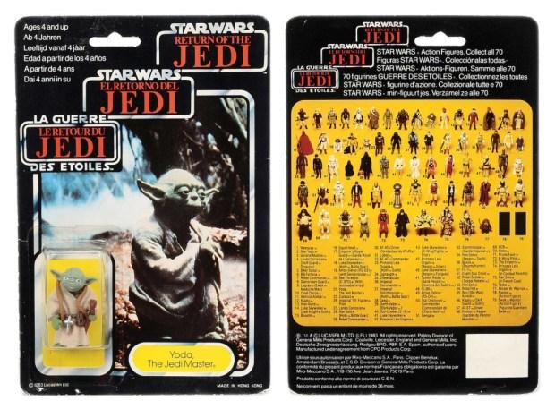 Palitoy/General Mills Star Wars Return of the Jedi Tri-Logo Yoda