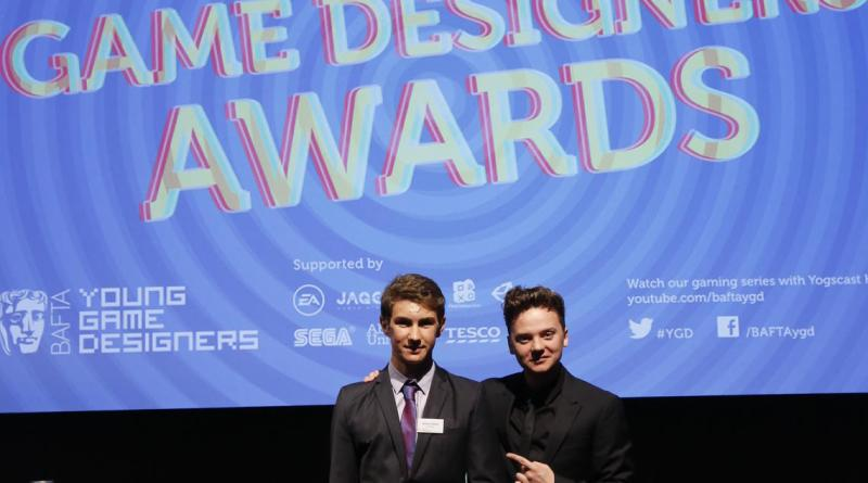 Adam Oliver was the 2014 Young Game Designers Game Making Award Winner, for his game AlienX. Image: BAFTA