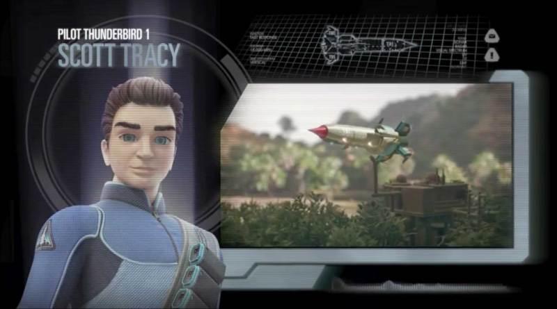 Thunderbirds Are Go: Scott Tracy and Thunderbird One