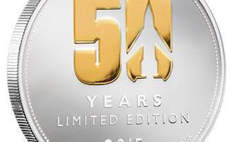 Thunderbirds 50 Years Anniversary Coin