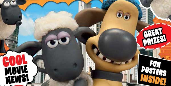 Totally Issue 56: Shaun the Sheep Movie Magazine SNIP