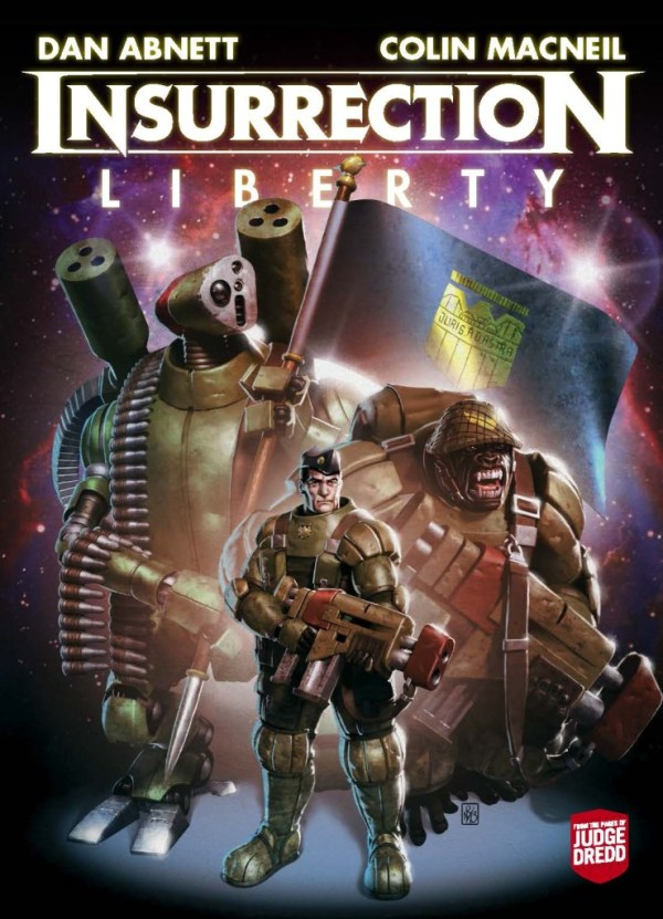 Insurrection: Liberty - Cover
