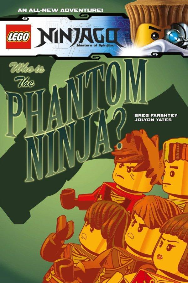 Lego Ninjago Vol.10 - Who is the Phantom Ninja?