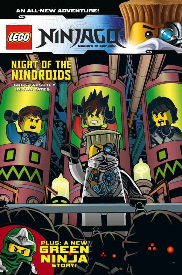 Lego Ninjago Volume 9 - Night Of The Nindroid's