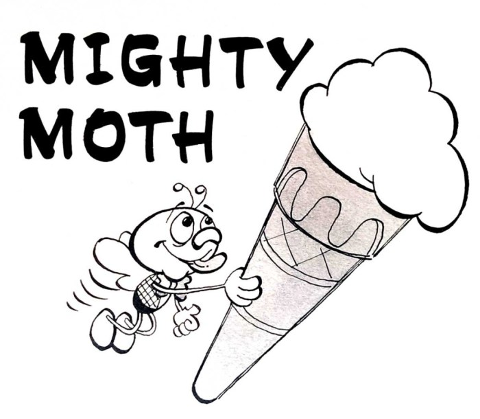Mighty Moth by Dick Millington