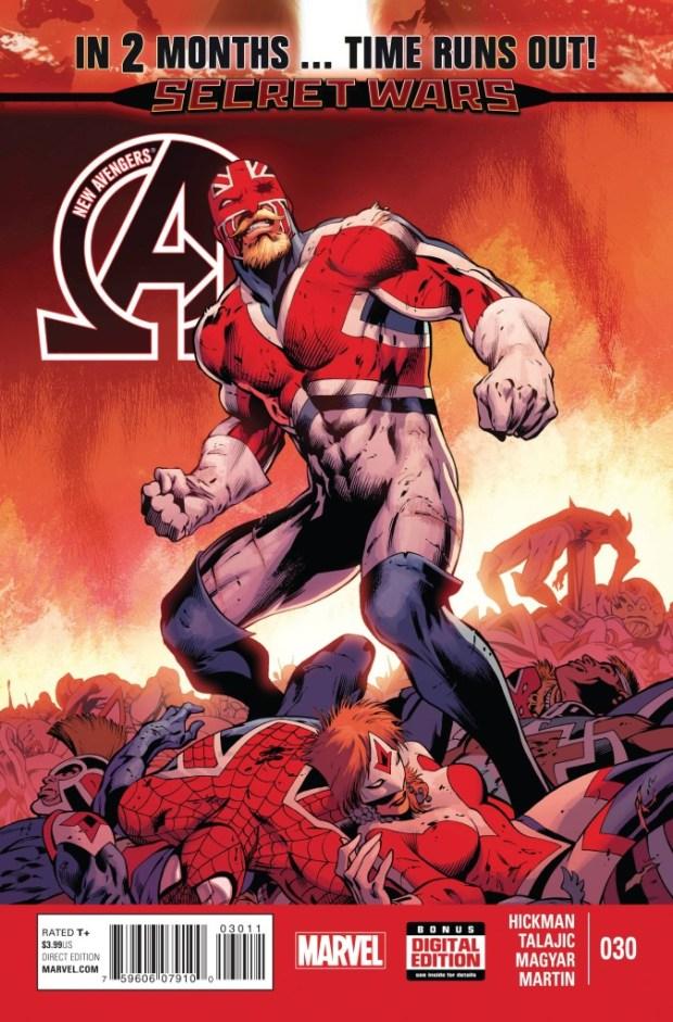 New Avengers #30 TRO