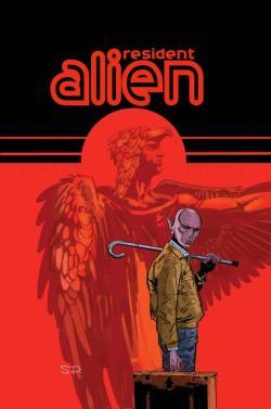 Resident Alien art by Steve Parkhouse