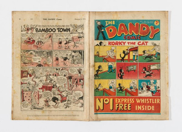 Dandy Comic No 1 (1937): Korky, Desperate Dan, Keyhole Kate and Freddy The Fearless Fly start their fun-filled adventures