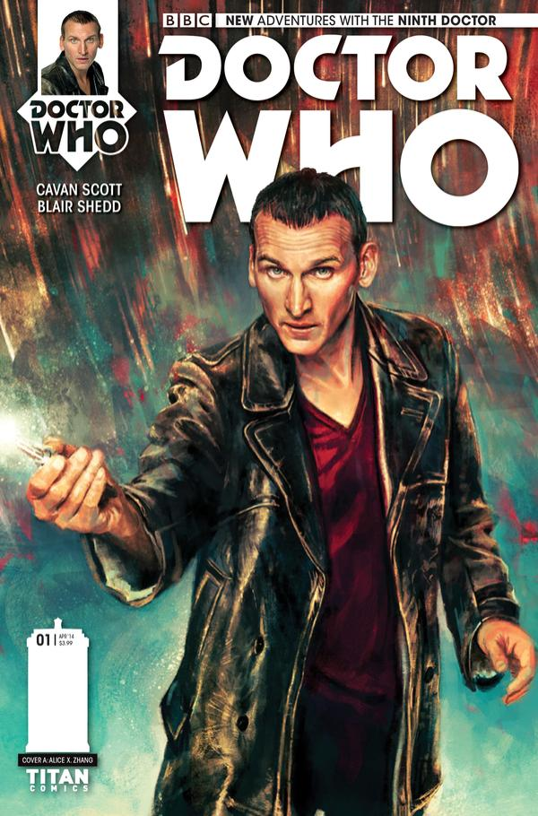 Doctor Who: The Ninth Doctor #1 - Cover A - Alice X Zhang