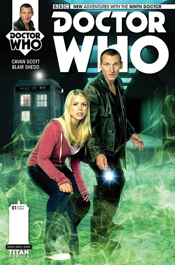 Doctor Who: The Ninth Doctor #1 - Cover B