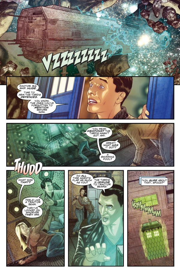 Doctor Who: The Ninth Doctor #1 - Sample 2