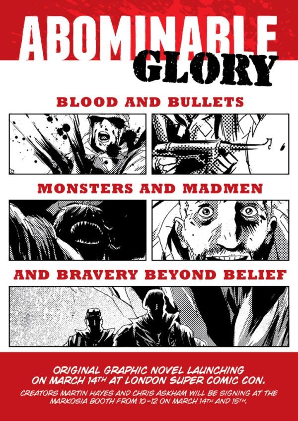 Abominable Glory – Flyer