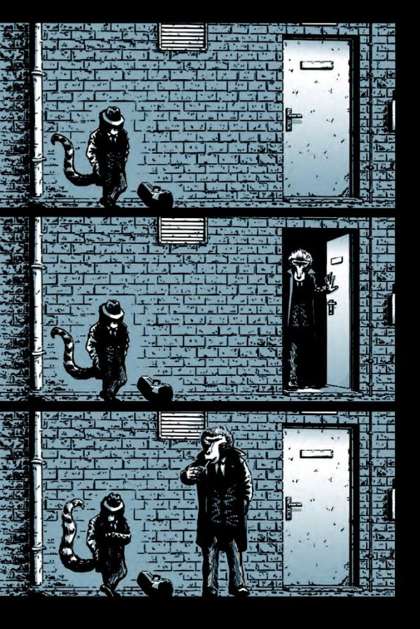 Toots Malloy: Blues Ninja Issue 1 - Sample Page 3