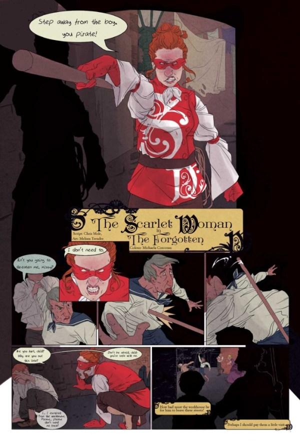 """Professor Elemental #4 - """"The Scarlet Woman - The Forgotten"""""""