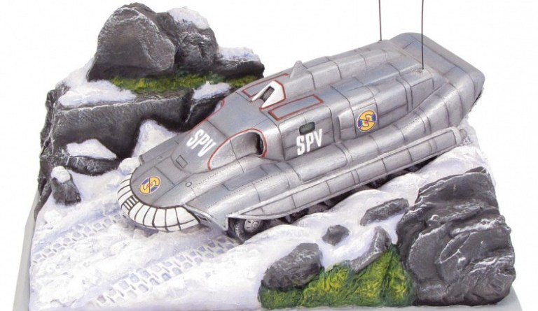 The Robert Harrop Designs limited edition SPV from Captain Scarlet is already on sale - but more designs are to come