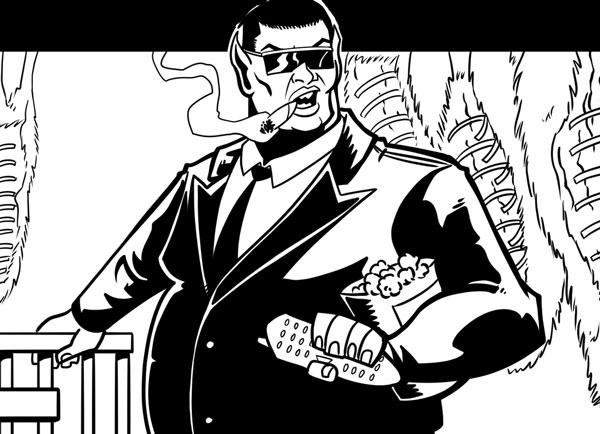 Future Shocks - The Ballad of Phat Toonie by writer JJ Robinson and artist Mike Bunt