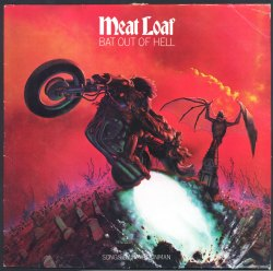 The cover of Meatloaf's 'Bat Out of Hell' by Richard Corben