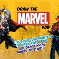 Draw the Marvel Way - Promotional Image