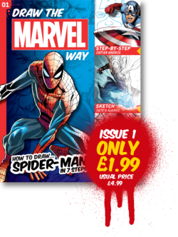 Draw The Marvel Way Issue One
