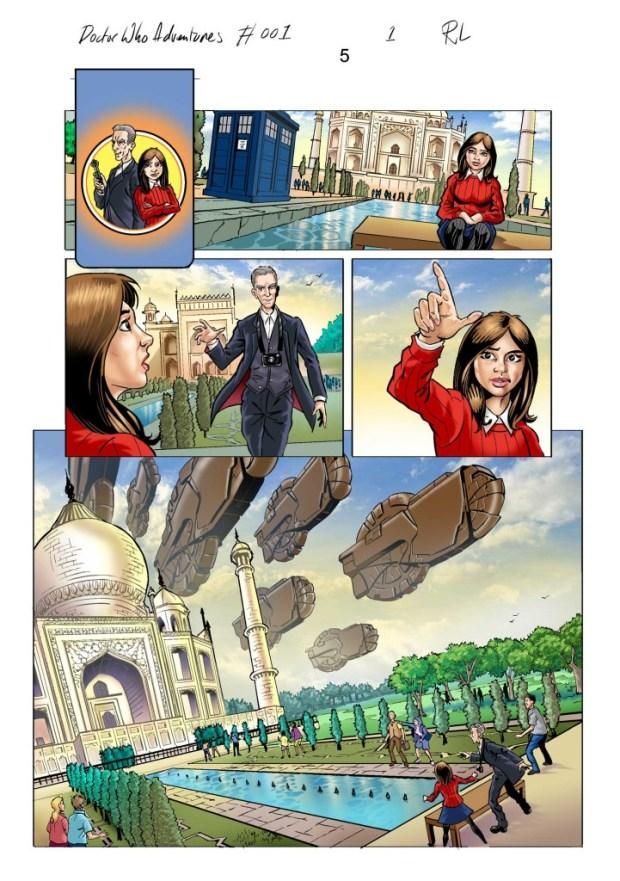 Doctor Who Adventures #1 (Panini Edition)