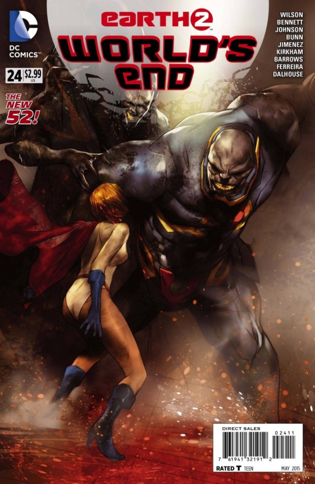 Earth 2 Worlds End #24