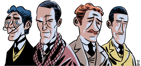 SelfMadeHero has published four Sherlock Holmes adventures