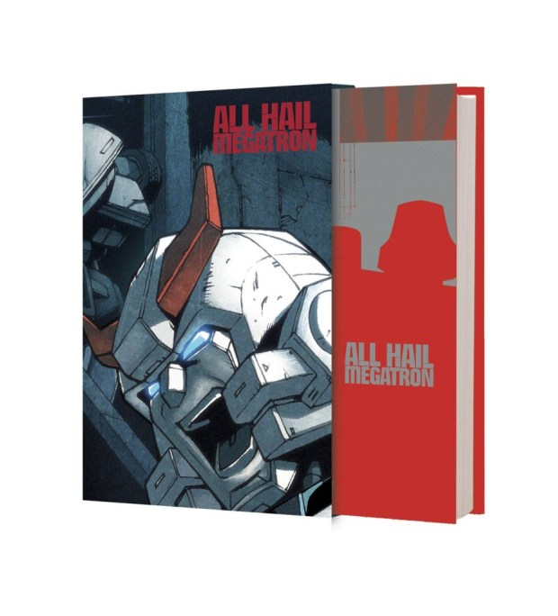 Transformers All Hail Megatron Deluxe Limited Hard Cover