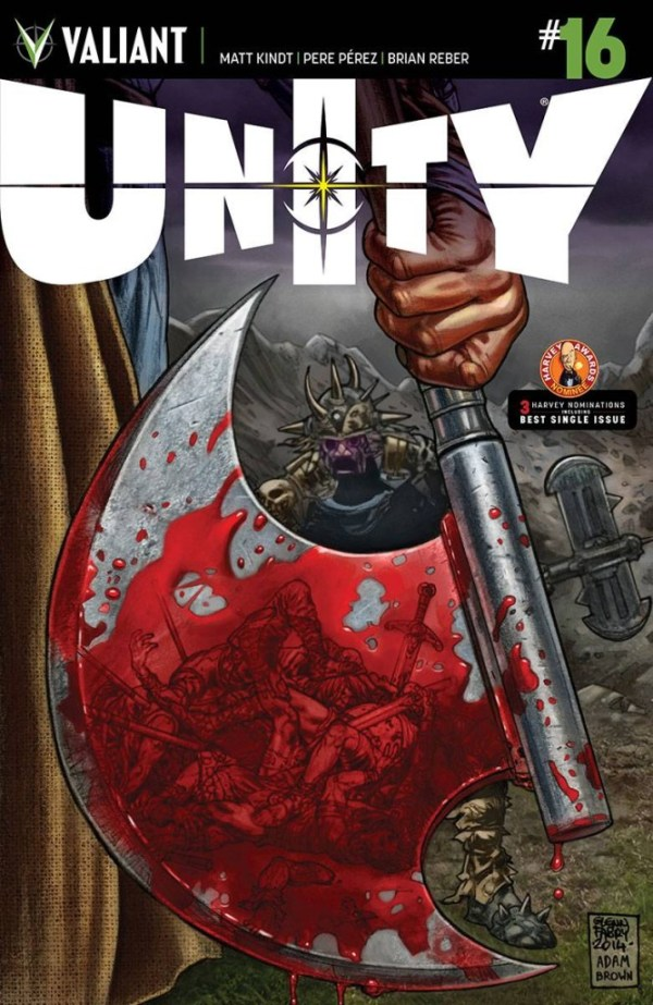 Unity #16 (Glenn Fabry Cover)
