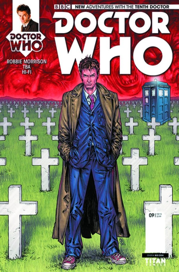 Doctor Who 10th Doctor #9 - Cover A