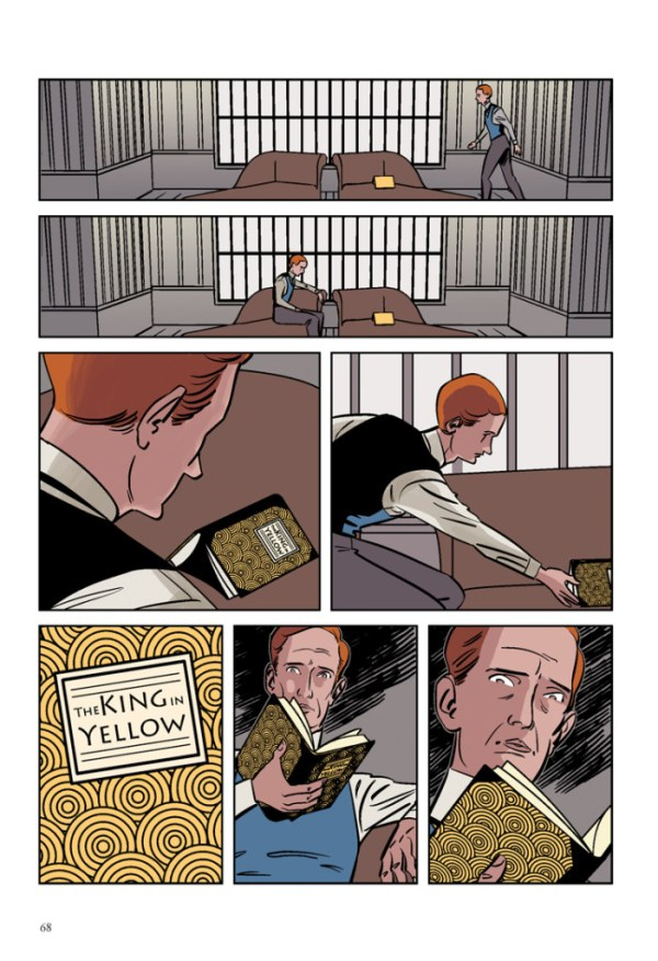 The King in Yellow - Sample Page