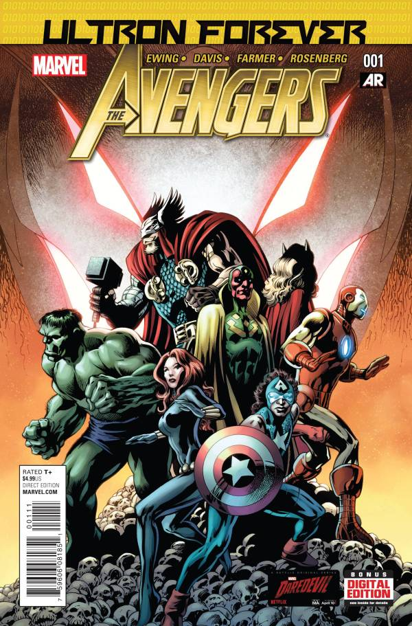 Avengers Rage Of Ultron OGN Hard Cover
