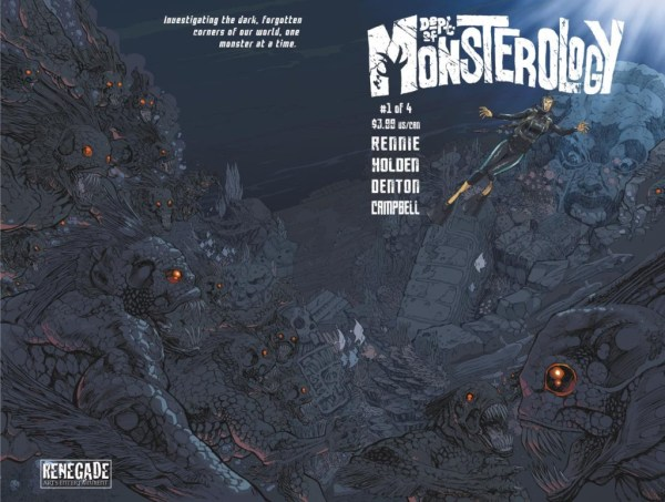 Department of Monsterology #1 - Cover