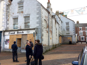 The closed Frank Beech Toy Shop. Image: Vectis