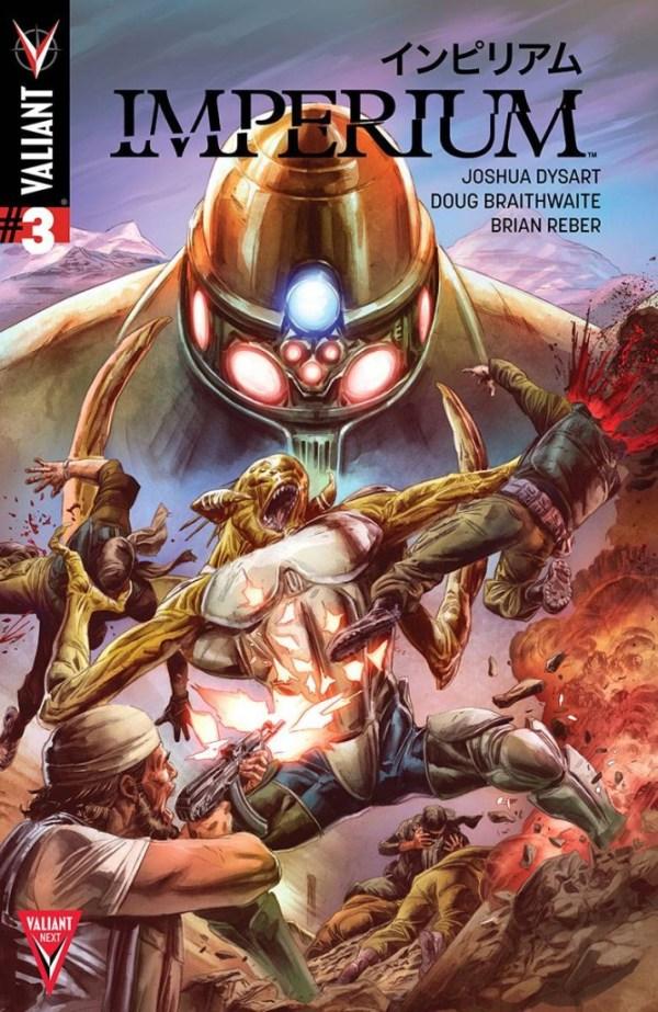 Imperium #3 - Cover B