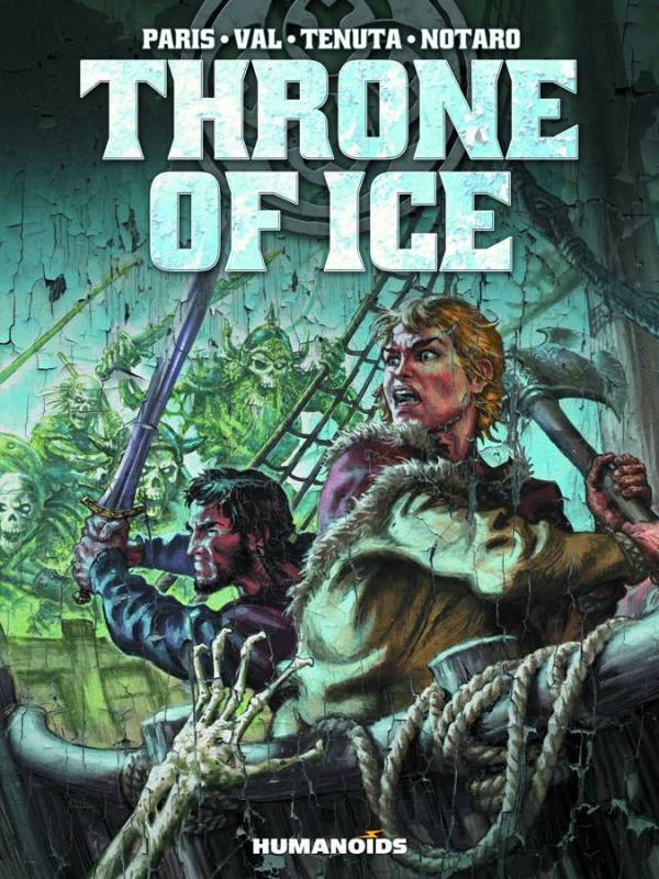 Throne Of Ice Hard Cover