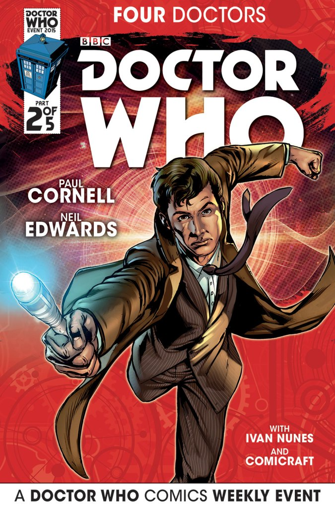 Doctor Who: Four Doctors - Cover A2